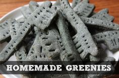 Homemade Greenies For Dogs | Recipe For Homemade Greenies | Treat your dog to homemade Greenies that will freshen their breath and help clean their teeth.