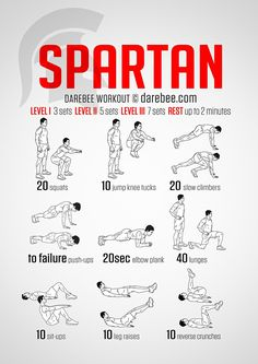 Spartan Workout | Posted By: CustomWeightLossProgram.com