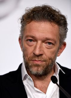 Vincent Cassel at an event for Mon roi (2015)