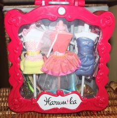 The Harumika designer set comes with everything you need to create beautiful fashions including 3 mannequins, more then 10 themed fabrics, belts and sticker sheets. Everything in the set is reuasable, allowing you to create time and time again. | eBay!