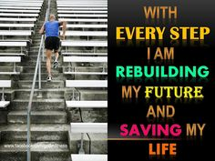 With every step, I am saving my life