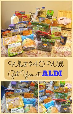 Mending the Piggy Bank | What Will $40 Will Get You at ALDI