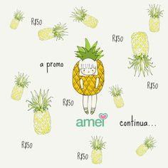 Feira de quinta, ta chovendo abacaxi. Bom dia ☔ #lojaamei #bomdia #promo #cinquenta #abacaxi #feira
