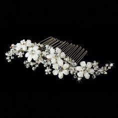 Juliette Swarovski Bridal Hair Comb