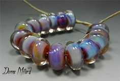 SRA Handmade LAMPWORK Glass Beads Donna Millard by DonnaMillard