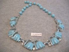 SOLDLive Auction Saturday night Sept 7th @ 7pm PDT http://tophatter.com/auctions/30152?campaign=featured=internal Vintage Kramer High End Thermoset Flower Necklace. Starting at $12