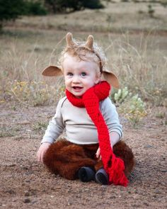 Mr. Tumnus halloween costume. Haha!