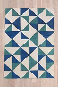Assembly Home Rotating Triangle Handmade Rug - Urban Outfitters