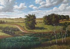 """Claudio Furlan - """"A estrada de roça"""". - Caçapava - SP. / pintura ao ar livre - """"plein air painting"""""""