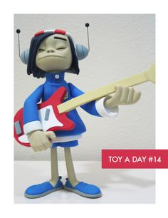 Noodle, Gorillaz Black edition figure