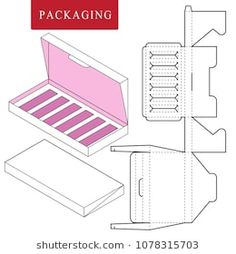 Find Packaging Design Product Set Gift Set stock images in HD and millions of other royalty-free stock photos, illustrations and vectors in the Shutterstock collection. Cardboard Box Crafts, Paper Crafts Origami, Diy Paper, Box Packaging Templates, Paper Packaging, Diy Gift Box, Diy Box, Paper Box Template, Creative Box
