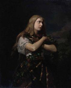 Artur Grottger (1837-1867), Ophelia.