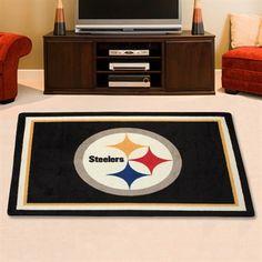 Pittsburgh Steelers 3'10'' x 5'4'' Logo Rug