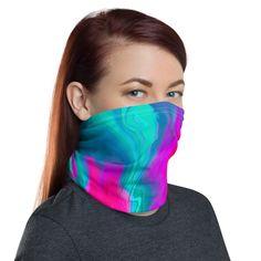Multi-Functional Face Cover Neck Gaiter Mask Bandana Headband Wristband Gift Neck Warmer Wrap Scrave