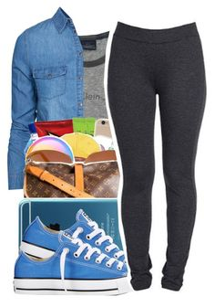 """""""Go Follow @trippyxtwins"""" by chain-g-a-n-g ❤ liked on Polyvore featuring New Look, Converse, NYDJ, women's clothing, women's fashion, women, female, woman, misses and juniors"""