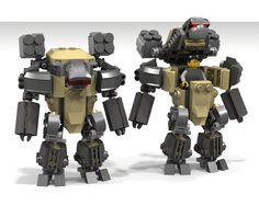 """Powerful and heavy, made to crush its enemies with bare hands. Meet """"Ogre"""", one of the slowest hardsuits in the world and yet one of the most feared of. The only strange thing about it is its missile launchers: why it even needs them, if the only thing it is good at is the closest combat possible?  It's been a loooong time since my last hardsuit and I really like building them! This seems to have some lack of articulation, but that was made on purpose. Atl least its bulkiness is beyond any…"""