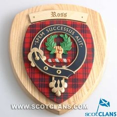 Ross Clan Crest Wall