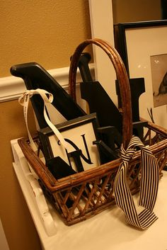 I have a basket of G 's in my hallway, it looks GREAT and is a perfect way to store my collection when they aren't on the mantel...