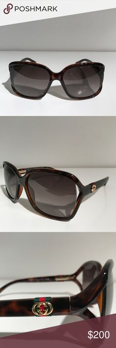 Gucci 2017 Rectangular Sunglasses Brown Brand new with original case, cards and cloth. Made in Italy. Gucci Accessories, Sunglasses Accessories, Gucci 2017, Gucci Sunglasses, Fashion Design, Fashion Tips, Fashion Trends, Designer Handbags, Eyewear