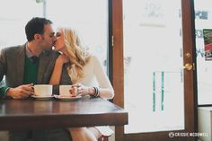 Cafe Engagement Session