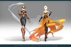 (OPEN) Adoptable Outfit Auction 153-154 by Risoluce.deviantart.com on @DeviantArt