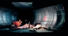 scenography-project tony kushner _angels in america   nationaltheater mannheim  concept: time is running out, one of the protagonists of the drama got the diagnosis HIV-positive   fragments, leavings, splits and shreds of human reality fly through a drafty, transluzent and white timetunnel   it may remind the audience on angel wings   the end of the tunnel is a dark changing cubicle - the end of the personal lifespan, the end of the personal anthroposhere   scenical direction _peter…
