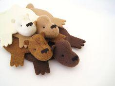 Bear Rug Coaster -how creative!