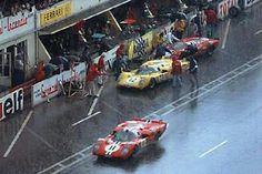 24 heures du Mans 1970 - Ferrari 512S #12- Pilotes : Hughes de Fierlandt…