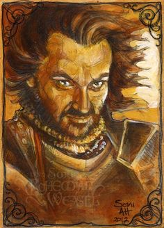 Isildur by Soni Alcorn-Hender Fantasy Books, Fantasy Art, Peter Jackson Movies, Lotr Swords, Lord Sauron, Concerning Hobbits, Jrr Tolkien, Dark Lord, The Hobbit
