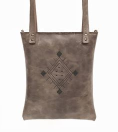 Leather bag with pri...