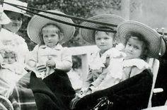 Baby Anastasia, Maria, Olga and Tatiana ~ <3