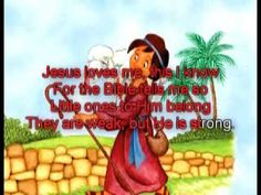 ▶ Amazing Grace AND Jesus Loves Me this I know - images with lyrics - YouTube