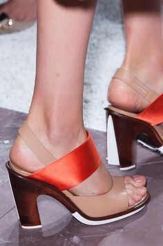 Best Runway Shoes and Bags at Fashion Week Spring 2015 | POPSUGAR Fashion.  Tod's Spring 2015