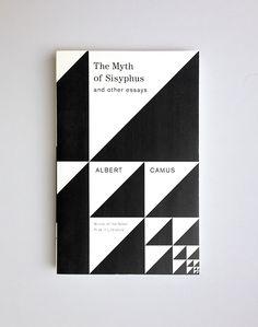 The Myth of Sisyphus // Albert Camus / design Helen Yentus / publisher Vintage Books