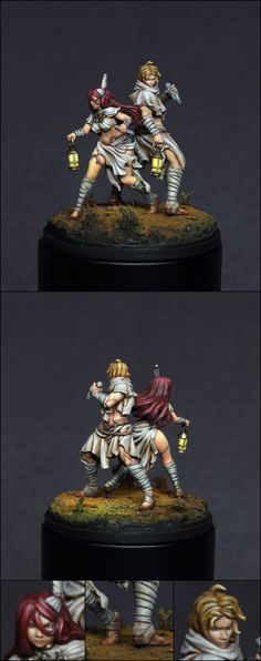 The Internet's largest gallery of painted miniatures, with a large repository of how-to articles on miniature painting Love Painting, Light Painting, Figure Painting, Information Art, Fantasy Miniatures, Till Death, Mini Paintings, Warhammer 40k, Artists