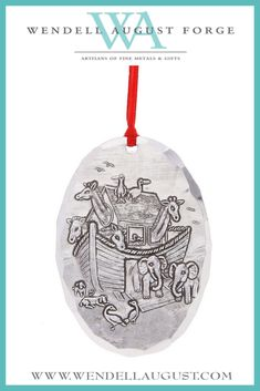 Wendell August Ohio State Dangling Ornament Mom