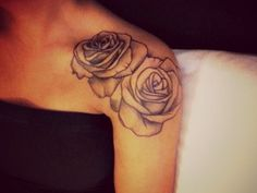 Beautiful! If I was 10yrs younger I would get a shoulder tat #now!!!!!