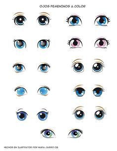Moldes de Olhos,Bocas,Nariz e Bigodinho Para Imprimir