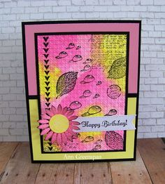 Ann Greenspan's Crafts: Pink and Yellow