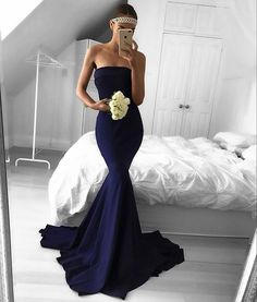 MAE BABY @em.spiliopoulos wearing our Mae Dress in Navy | also available in Frost (Lilac), Ivory and Red, sizes 4-30. Link in bio #whiterunway #bridesmaids #bridesmaiddress