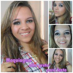 Algumas meninas me pediram para fazer uma maquiagem de olho preto para usar nas baladas. Então resolvi fazer essa maquiagem mudando um pouquinho e usando as minhas adaptações,meninas venham ver essa maquiagem e curti muito,venha aprender a fazer um olho preto com a Amanda estou esperando!!! Link do Blog:http://amandalucianablog.wordpress.com/2013/06/15/tutorial-maquiagem-olho-preto-para-festa/ Link direto no youtube:http://www.youtube.com/watch?v=GENBqb5XIrE=youtu.be