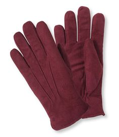 LL Bean gloves: High-pile fleece lining is infused with aloe to soothe chapped hands.