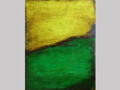 Gelb-Grün-Komposition ... Acryl auf Leinwand ... 80 x 100 cm  http://www.angela-semmler.de