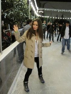 What to wear ice skating date