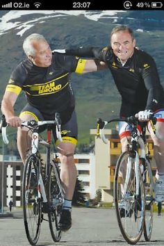 Tour de France 2013- LeMond and Hinault re-enacting history