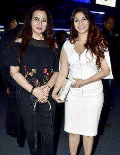 Poonam Dhillon and Tanishaa Mukerji at a fashion event in Mumbai. #Bollywood #Fashion #Style #Beauty #Hot #Sexy