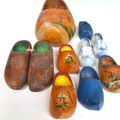 wooden shoe instant collection of 10  offered by Elizabeth Rosen.