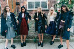 Mean Girls - New York Times Magazine - Photography Tyrone Lebon - Stylist  Sara Moonves