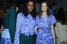Jonathan Saunders spring 2015 rtw - behind the scenes High Fashion, Fashion Show, Jonathan Saunders, Fashion Week 2015, Ss 15, Lovely Dresses, Fashion Books, Spring 2015, Backstage