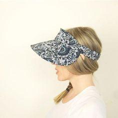 Hat, Lucent Visor, sewing pattern, millinery, Pattern Fantastique